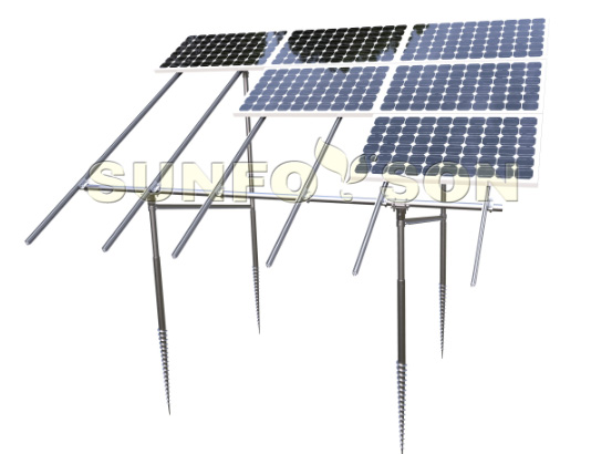 ground mounted solar racking & mounting