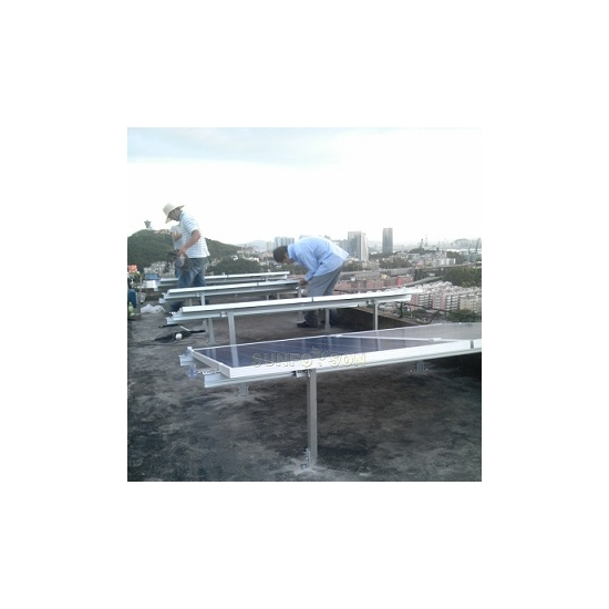 solar aluminum mount mounting system for panel installation